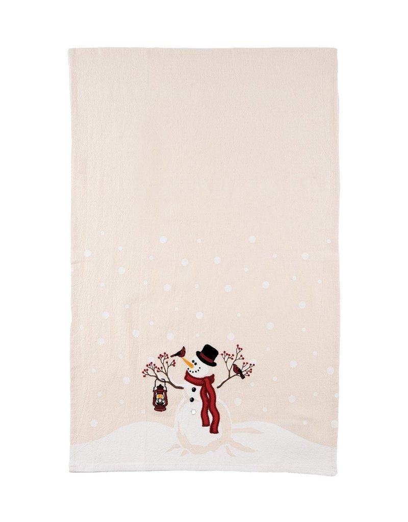 C&F Enterprises Snowman Wonder Tea Towel