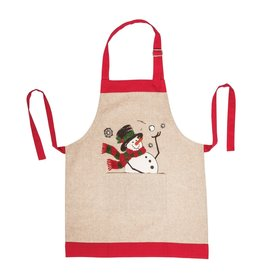 C&F Enterprises Snowman Ball Kid's Apron