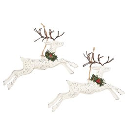 C&F Enterprises Tin Leaping Deer Ornament