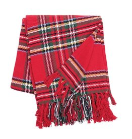 C&F Enterprises Arlington Plaid Throw