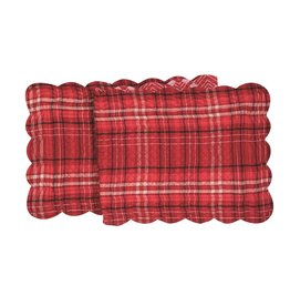 C&F Enterprises Andrew Red Table Runner