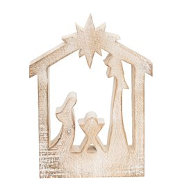C&F Enterprises Carved Nativity Silhouette