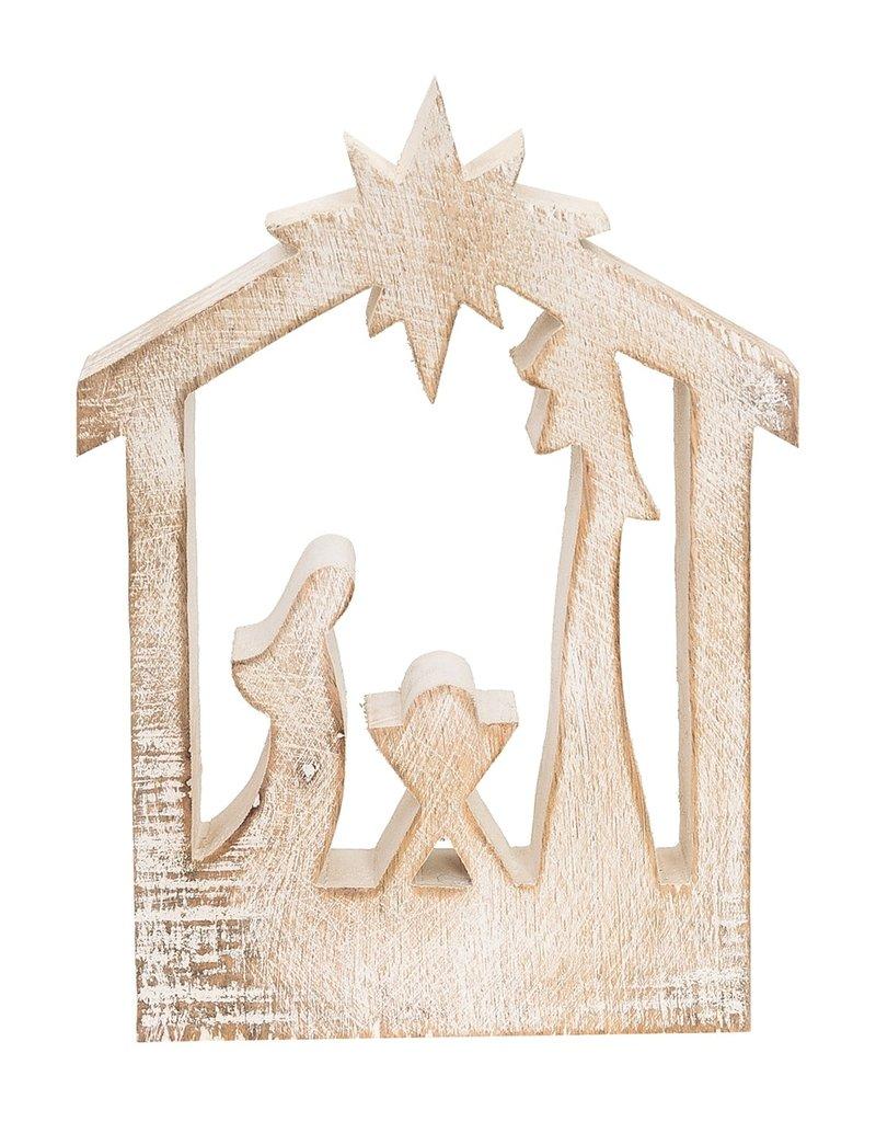 C&F Enterprises Carved Nativity Silhouette