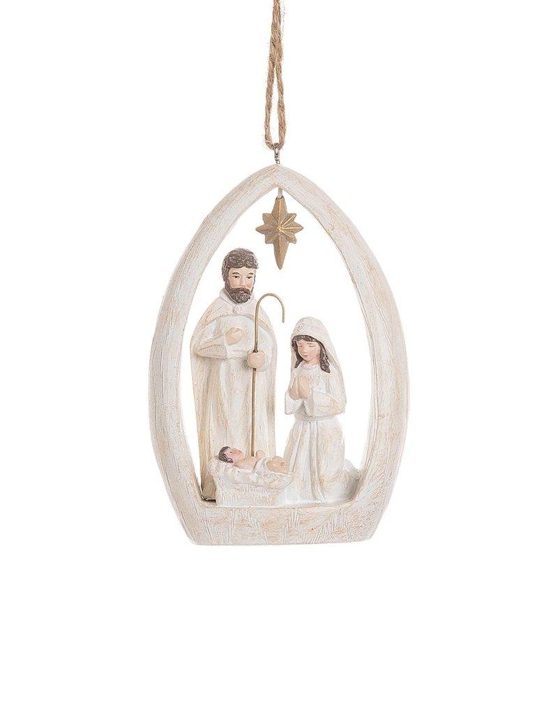 C&F Enterprises Woodland Nativity Ornament