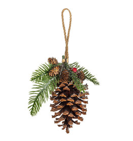 Abbott Pinecone & Fir Ornament