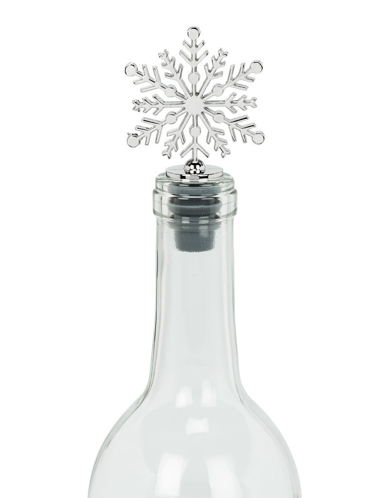 Abbott Snowflake Bottle Stopper