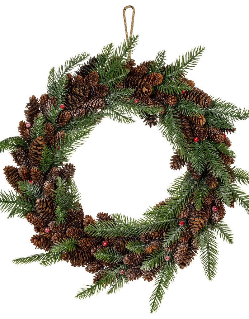 Abbott Pinecone and Fir Wreath (Abb)