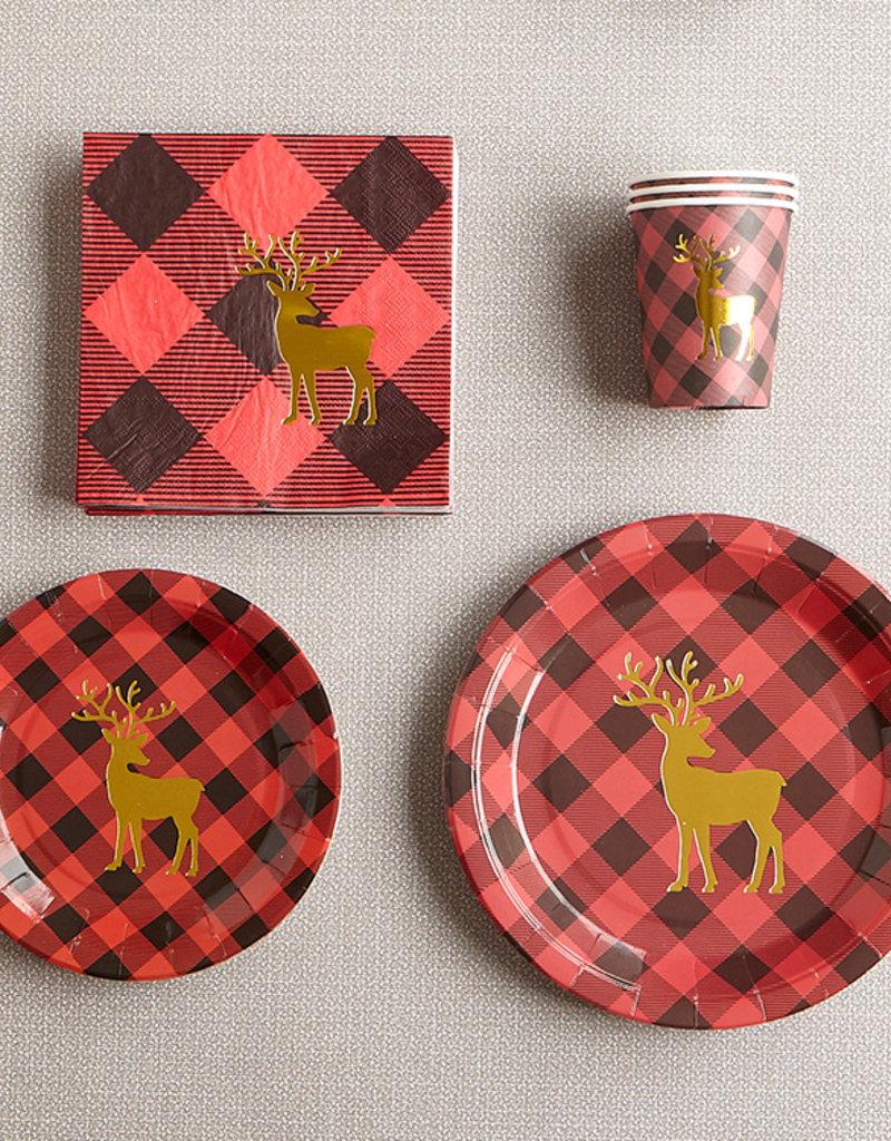 Harman Party in a Box - Buffalo Check Reindeer