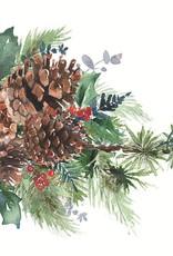 PPD Lunch Serviette - Winter Pine