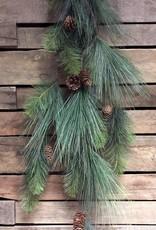Tri W Imports Pine & Cone Garland