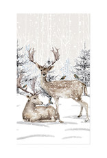 Harman Reindeer Tree Guest Serviette