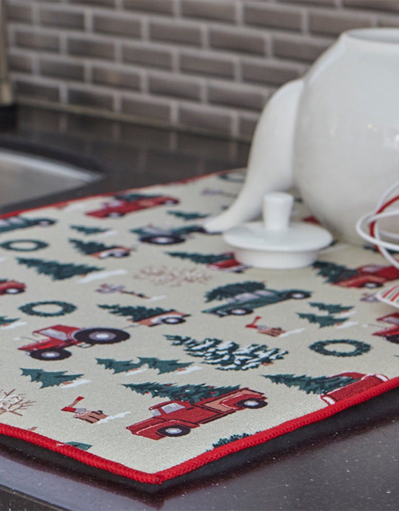 Harman Vintage Christmas Drying Mat