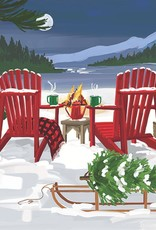 PPD Beverage Serviette - Lakeside Holiday