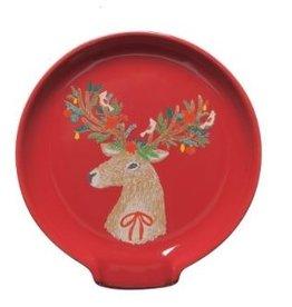 Danica Dasher Deer Spoon Rest
