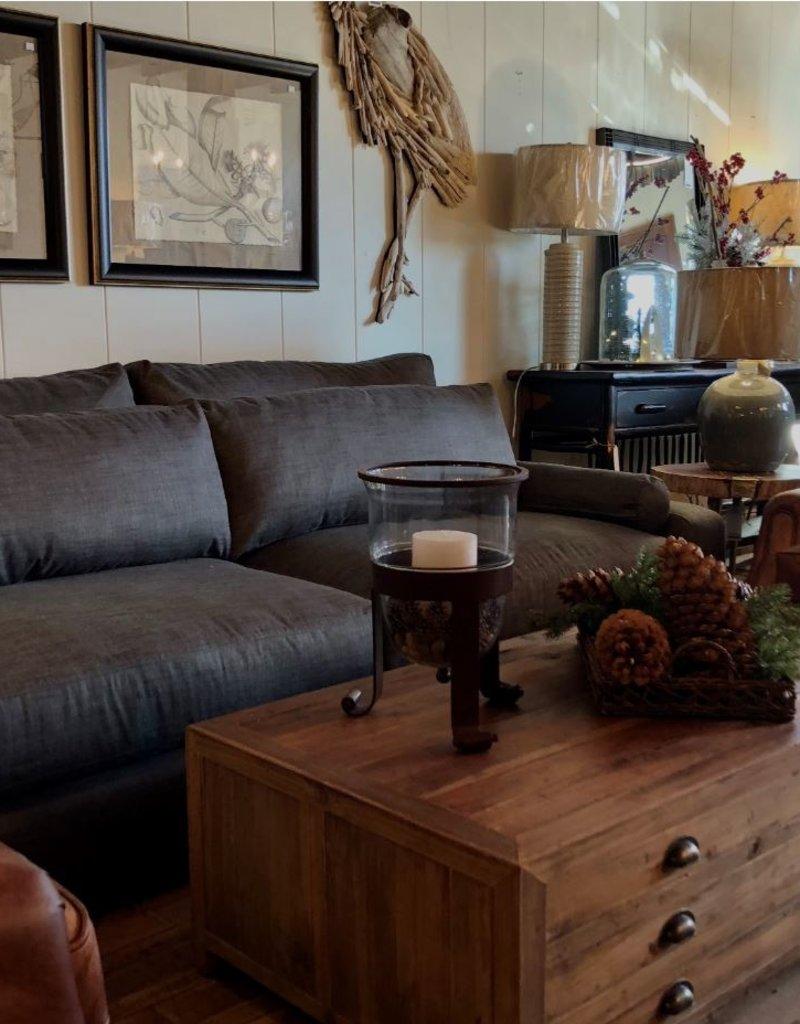 Brownstone Benchmade 2 Pc. Sofa - Echo Soot