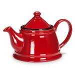 Enamel Teapot - Red
