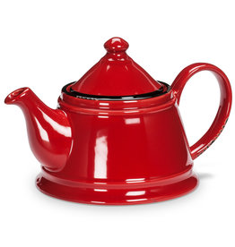 Abbott Enamel Teapot - Red