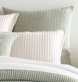 Pine Cone Hill Pick Stitch Evergreen Euro Sham
