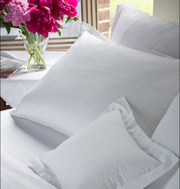 Revelle Home Fashions White Seersucker Duvet Cover - King