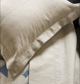 Revelle Home Fashions Savoy Linen Flax Duvet Cover - Queen