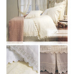 Brunelli Renaissance White Duvet Set - Queen