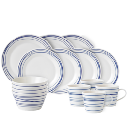 Royal Doulton Pacific Blue Lines Dish Set