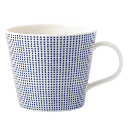 Royal Doulton Pacific Blue Dots Mug