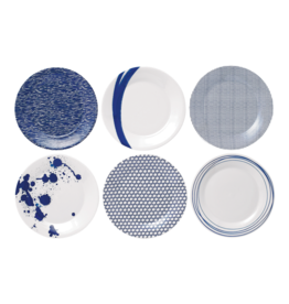 Royal Doulton Pacific Blue Accent Plate Set
