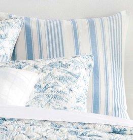 Pine Cone Hill Montebello Asiatic Blue Euro Sham