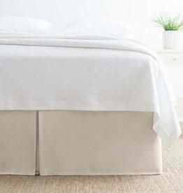 Pine Cone Hill Carina Semolina Bed Skirt - King