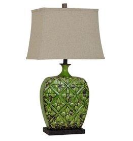 Crestview Urn Yard Table Lamp (Crest)