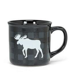 Abbott Moose Check Mug