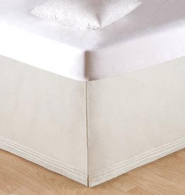 C&F Enterprises Soft White Tailored King Bed Skirt