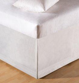 C&F Enterprises White Tailored King Bed Skirt