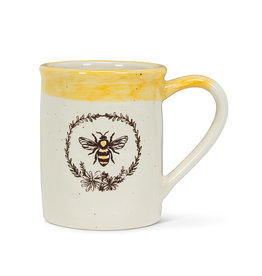 Abbott Bee Wreath Mug