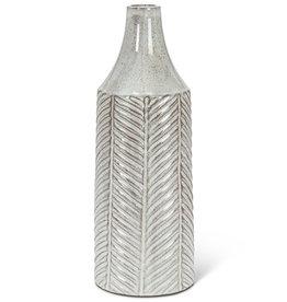 Abbott Tall Herringbone Vase