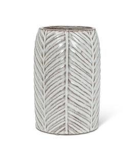 Abbott Medium Herringbone Vase