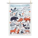Abbott Canadian Wildlife Tea Towel