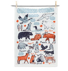 Abbott Canadian Wildlife Tea Towel