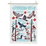 Abbott Canadian Birds Tea Towel