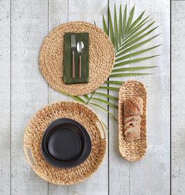 Harman Palma Woven Tray Small Round - Natural