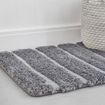 Luxe Ribbed Bath Mat
