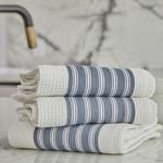 Premium Waffle Tea Towel Set