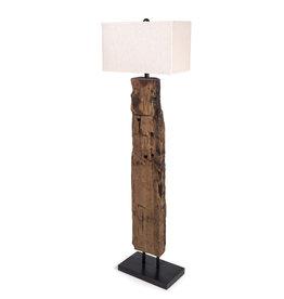 Regina Andrews Reclaimed Wood Floor Lamp