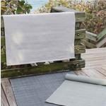 Dash & Albert Herringbone Pearl Indoor/Outdoor Rug