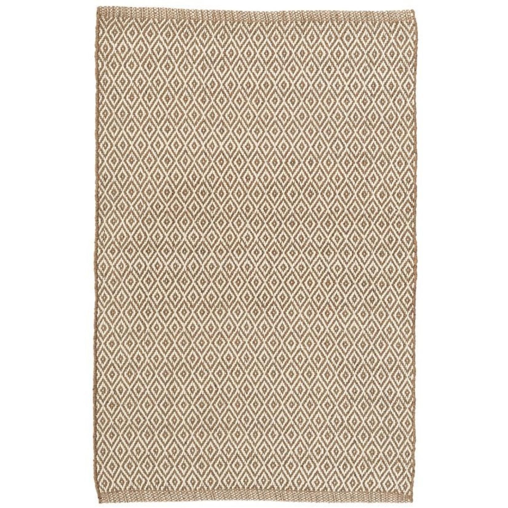 Crystal Brown/Ivory Indoor/Outdoor Rug, 2x3