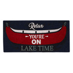 Harman Doormat - Relax You're on Lake Time