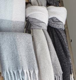 Harman Window Pane Knit Throw