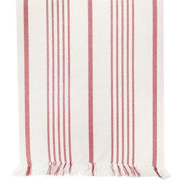 Harman Soft Stripe Red Table Runner