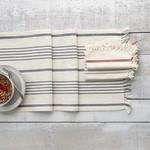 Harman Soft Stripe Grey Table Runner